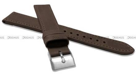 Pasek skórzany do zegarka - LAVVU LSAXC18 - 18 mm - XXL