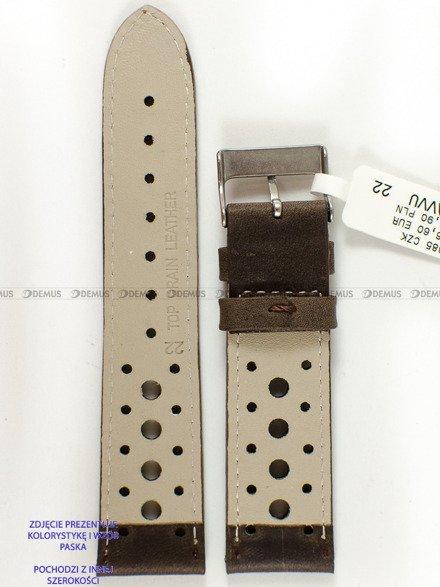 Pasek skórzany do zegarka - LAVVU LSGUC20 - 20 mm