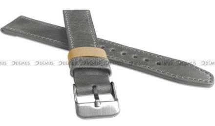 Pasek skórzany do zegarka - LAVVU LSOUA24 - 24 mm