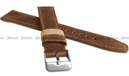 Pasek skórzany do zegarka - LAVVU LSOUE22 - 22 mm