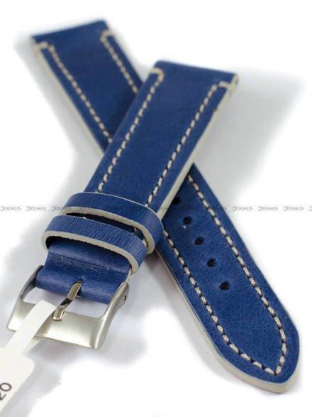 Pasek skórzany do zegarka - LAVVU LSPLA20 - 20 mm
