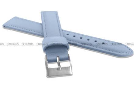 Pasek skórzany do zegarka - Minet MSBUJ18 - 18 mm