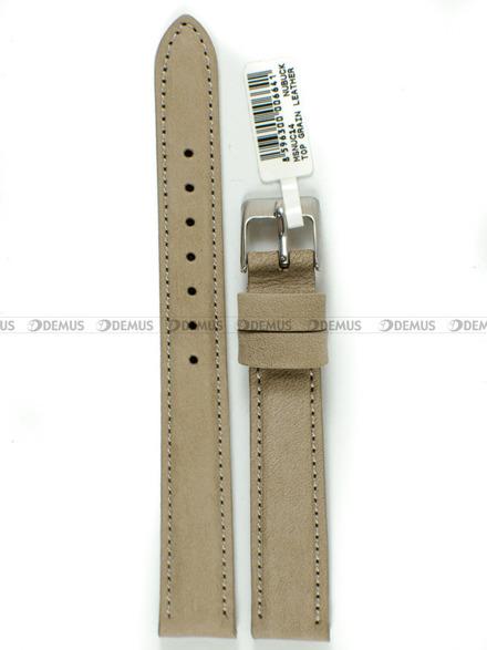 Pasek skórzany do zegarka - Minet MSNUC14 - 14 mm