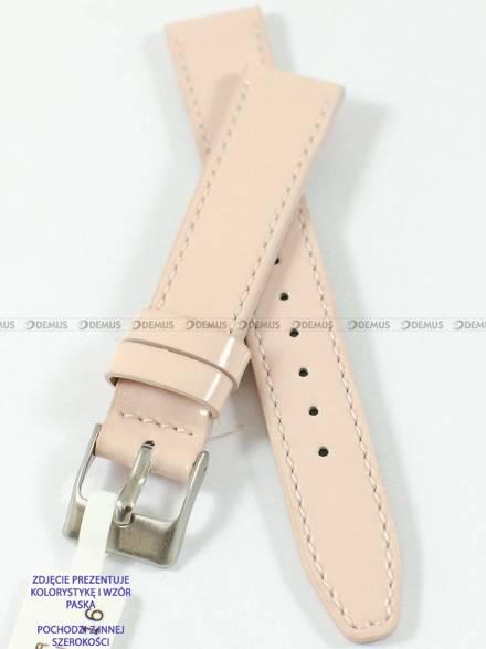 Pasek skórzany do zegarka - Minet MSOUP18 - 18 mm