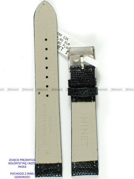 Pasek skórzany do zegarka - Minet MSRUB14 - 14 mm