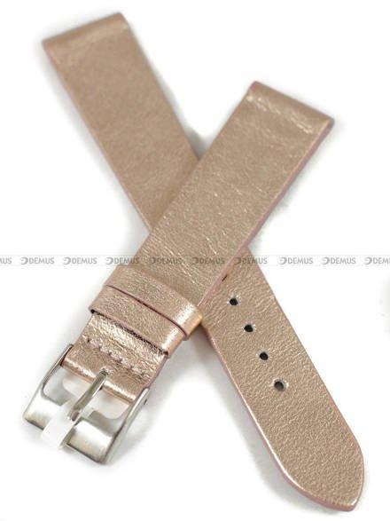 Pasek skórzany do zegarka - Minet MSSUY18 - 18 mm