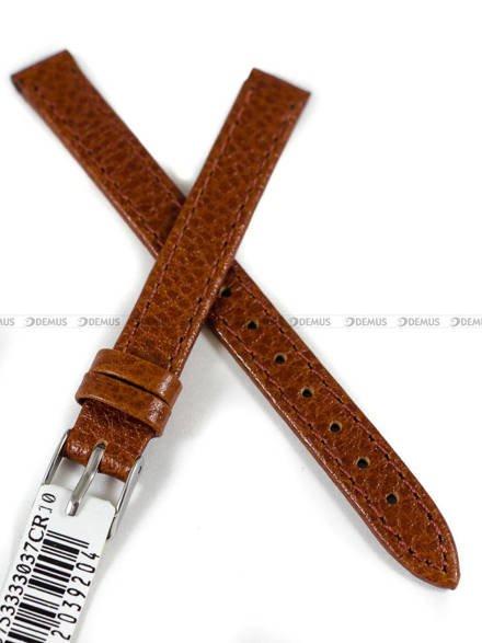 Pasek skórzany do zegarka - Morellato A01D0753333037CR10 - 10 mm