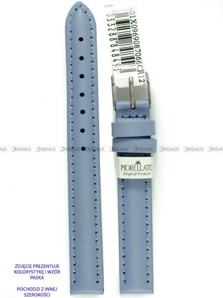 Pasek skórzany do zegarka - Morellato A01X0969087066CR20 - 20 mm