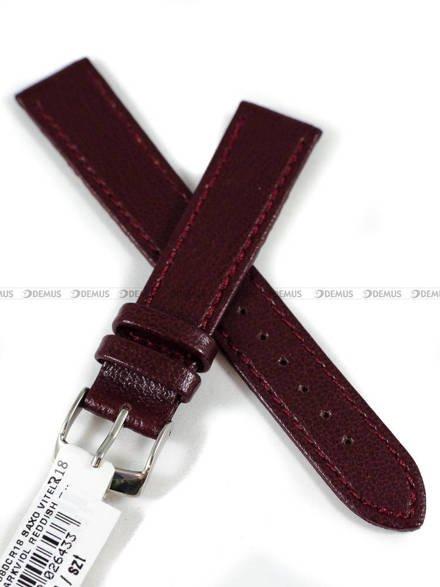 Pasek skórzany do zegarka - Morellato A01X2125269080CR18 - 18 mm