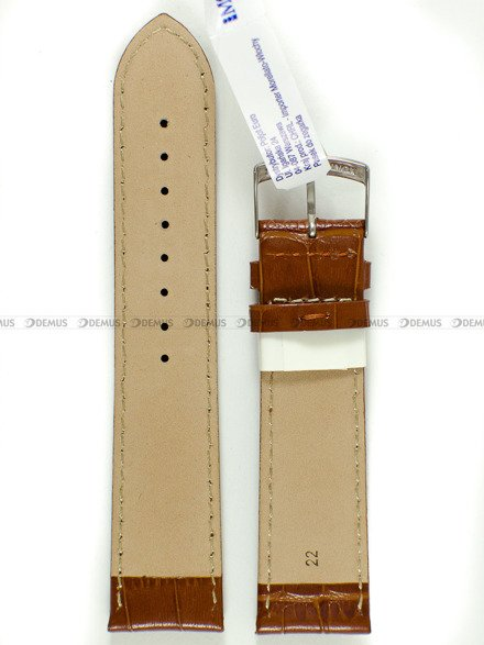 Pasek skórzany do zegarka - Morellato A01X2704656041 22mm