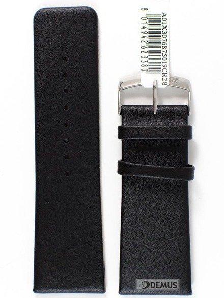 Pasek skórzany do zegarka - Morellato A01X3076875019 28mm