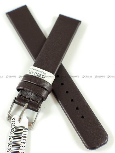 Pasek skórzany do zegarka - Morellato A01X3076875032CR16 - 16 mm