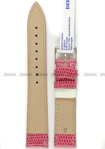 Pasek skórzany do zegarka - Morellato A01X3266773369CR18 - 18 mm