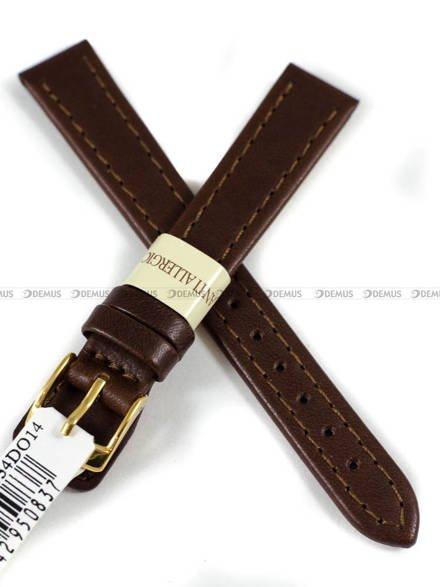 Pasek skórzany do zegarka - Morellato A01X3603087034DO14 - 14 mm