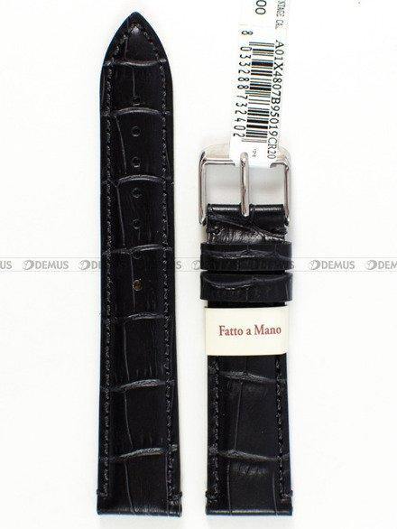 Pasek skórzany do zegarka - Morellato A01X4807B95019 - 20 mm