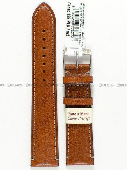 Pasek skórzany do zegarka - Morellato A01X4810947046 - 22 mm