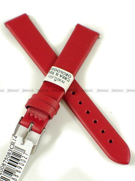 Pasek skórzany do zegarka - Morellato A01X5200875083CR14 - 14 mm