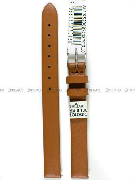 Pasek skórzany do zegarka - Morellato A01X5200875137CR10 - 10 mm