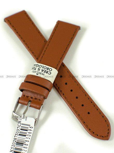 Pasek skórzany do zegarka - Morellato A01X5202875037CR18 - 18 mm