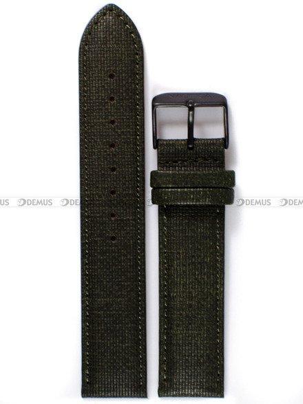 Pasek skórzany do zegarka Nautica A11108G - 20 mm