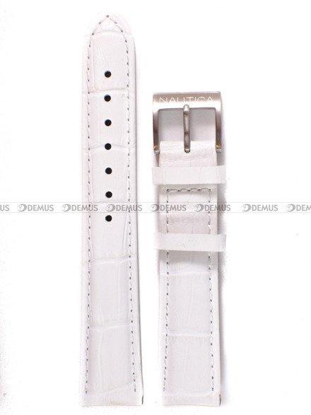 Pasek skórzany do zegarka Nautica A15109M - 18 mm