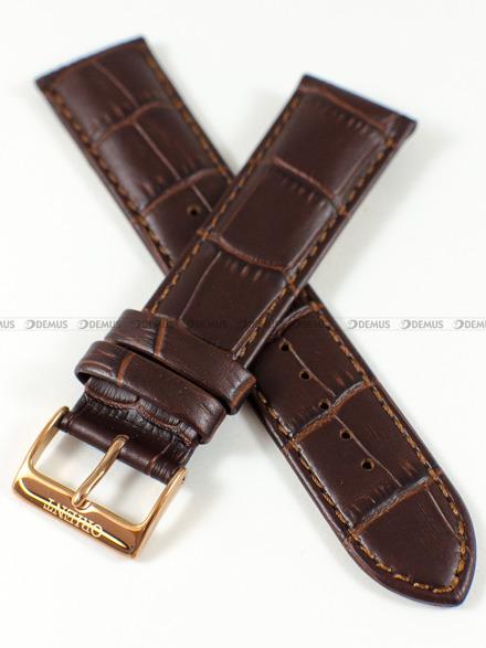 Pasek skórzany do zegarka Orient FAG00001S0 - UDFJBRT - 22 mm