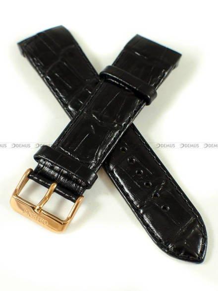 Pasek skórzany do zegarka Orient FUNC7007W0, FUNC7004B0 - UDEAJRB - 24 mm