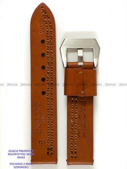Pasek skórzany do zegarka - Pacific W119.26.3.3 - 26 mm