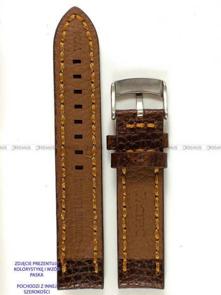 Pasek skórzany do zegarka - Pacific W24.24.2.3 - 24 mm