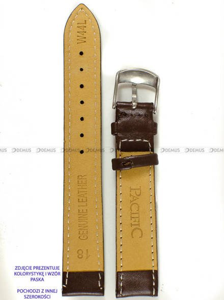 Pasek skórzany do zegarka - Pacific W44L.22.2.2 - 22 mm