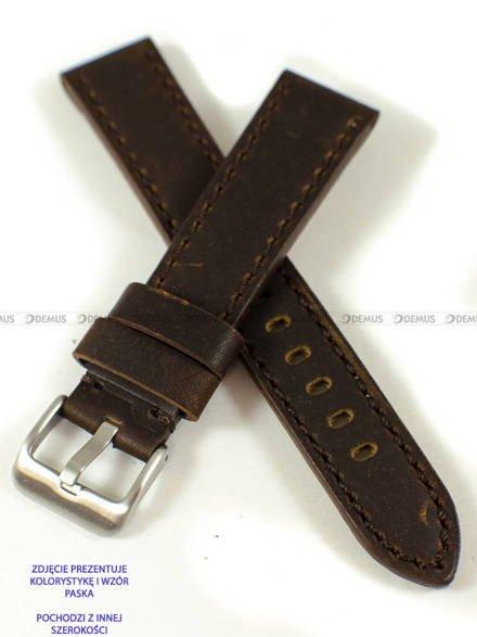 Pasek skórzany do zegarka - Pacific W48.22.2.3 - 22 mm