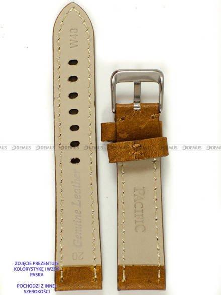 Pasek skórzany do zegarka - Pacific W48.24.31.31 - 24 mm