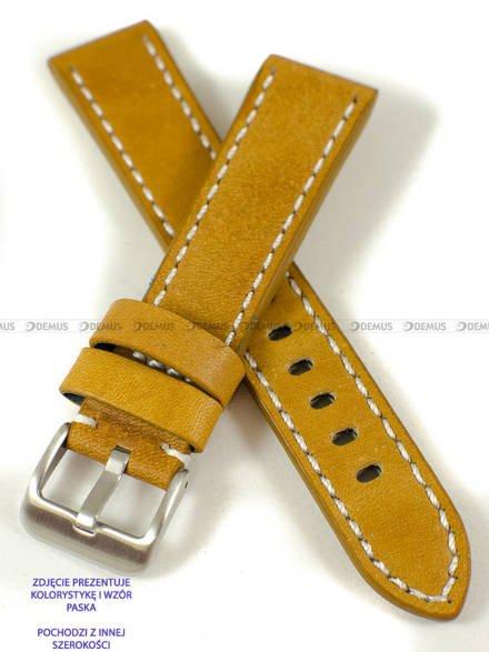 Pasek skórzany do zegarka - Pacific W48.24.32.7 - 24 mm