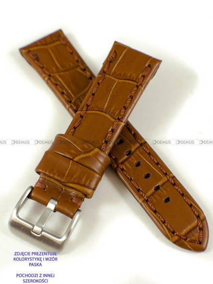 Pasek skórzany do zegarka - Pacific W49.22.3.3 - 22 mm