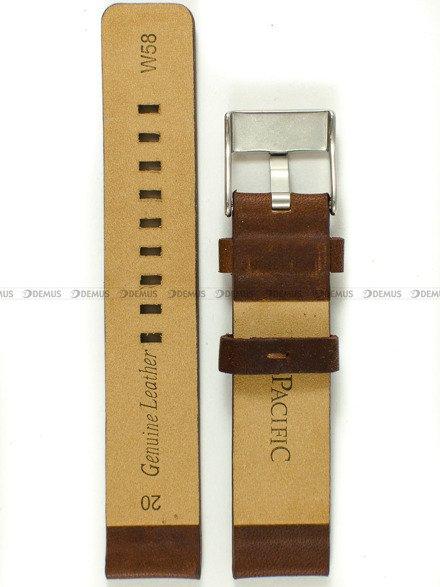 Pasek skórzany do zegarka - Pacific W58.20.2 - 20 mm