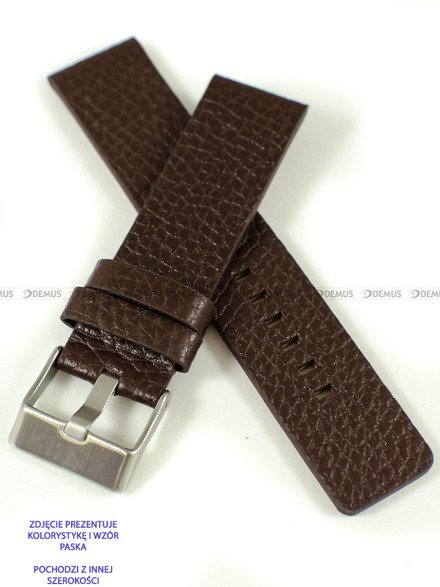 Pasek skórzany do zegarka - Pacific W60.24.2 - 24 mm