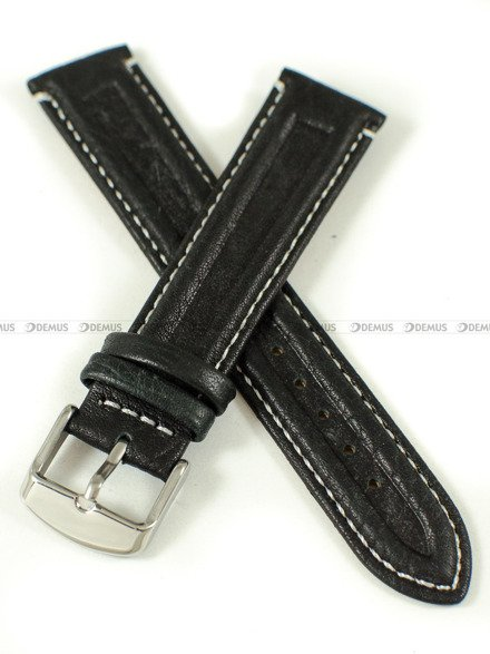 Pasek skórzany do zegarka - Pacific W65.20.1.7 - 20 mm