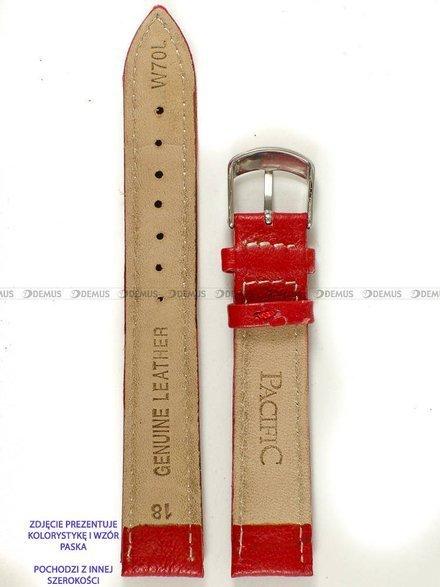 Pasek skórzany do zegarka - Pacific W70L.14.4.7 - 14 mm