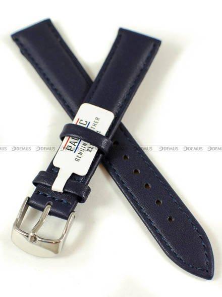 Pasek skórzany do zegarka - Pacific W70L.18.5.5 - 18 mm