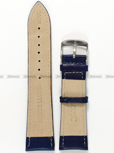Pasek skórzany do zegarka - Pacific W70L.24.5 - 24 mm