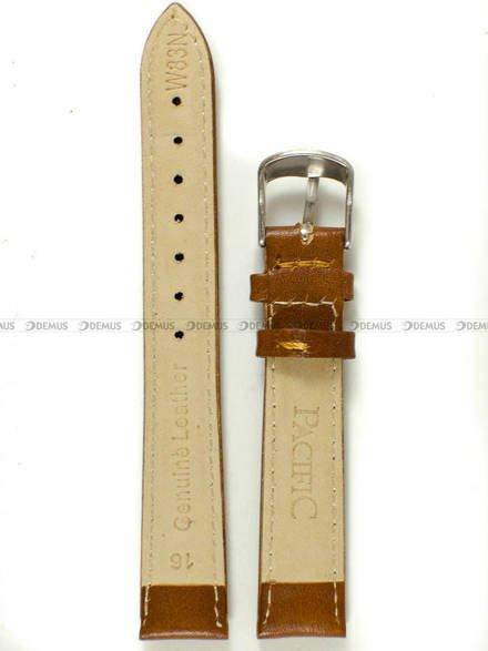 Pasek skórzany do zegarka - Pacific W83N.16.3.3 - 16 mm