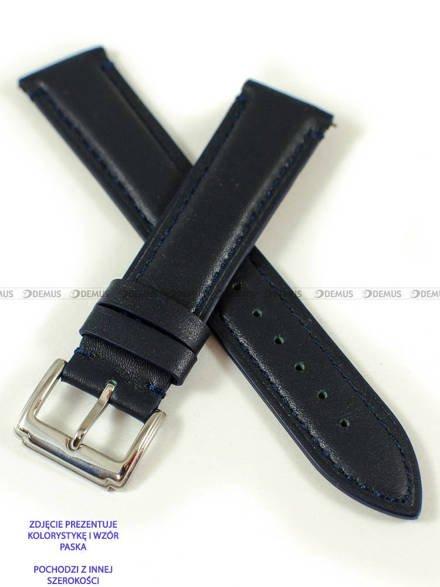 Pasek skórzany do zegarka - Pacific W89.22.5.5 - 22 mm