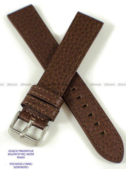 Pasek skórzany do zegarka - Pacific W92.22.3.3 - 22 mm