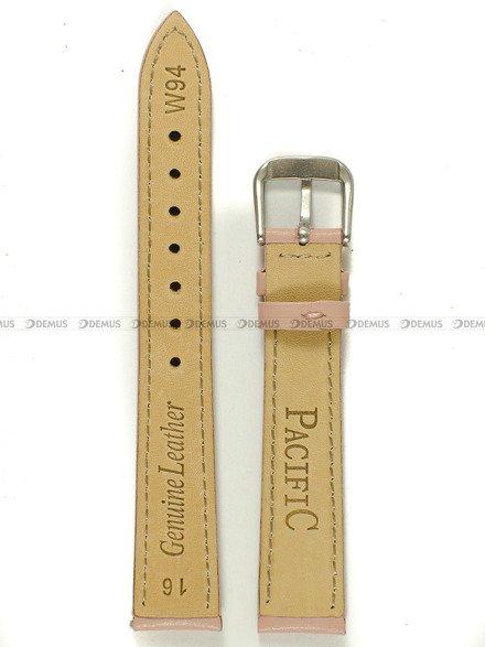 Pasek skórzany do zegarka - Pacific W94.16.20.20 - 16 mm