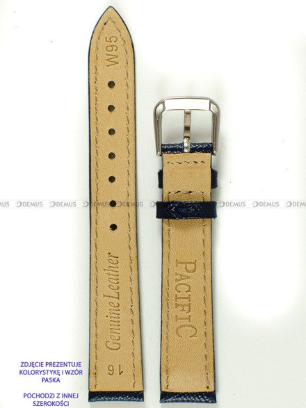Pasek skórzany do zegarka - Pacific W95.20.5.5 - 20 mm