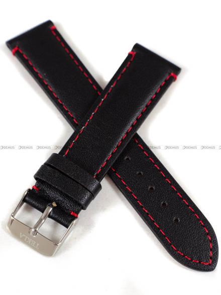 Pasek skórzany do zegarka - Tekla PT19.20.1.4 - 20 mm