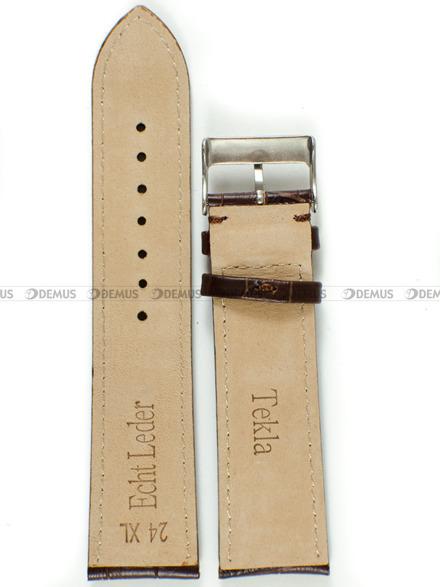Pasek skórzany do zegarka - Tekla PT22.24.2.2-XL - 24 mm
