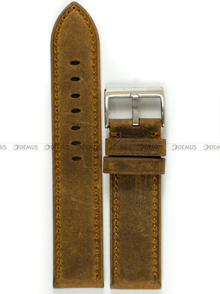 Pasek skórzany do zegarka - Tekla PT29.22.3.3 - 22 mm