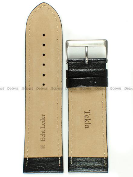 Pasek skórzany do zegarka - Tekla PT44.28.1.4 - 28 mm