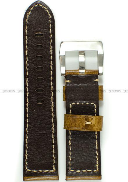 Pasek skórzany do zegarka - Tekla PT45.24.2.7 - 24 mm